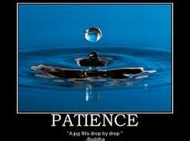 End of Patience.